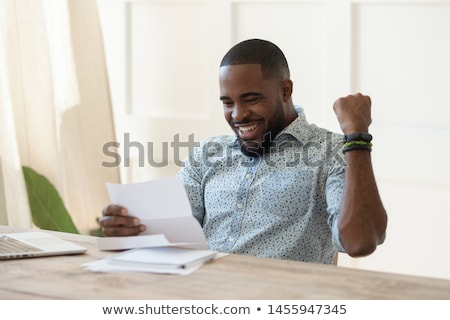 Startup Working People Happy of Triumph Prize Stock photo © robuart