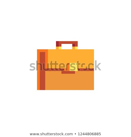 Suitcase Brief Case Pixel 8 Bit Game Art Icon Stock photo © Krisdog