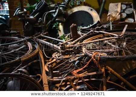 Demolished bike Stock photo © Zela