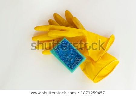 limpio · sucia · agua · manos · mujer - foto stock © dashapetrenko