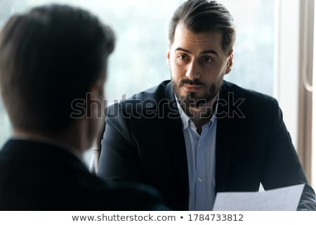 Resume, International Business Company Worker Stock photo © robuart