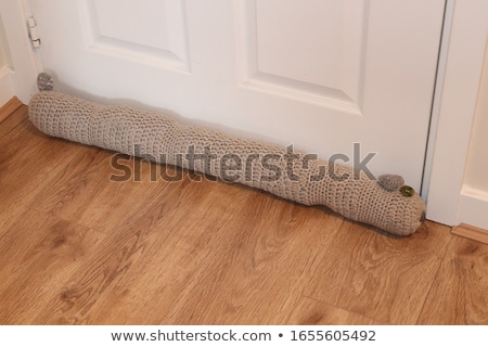 Draft Excluder Under Door Stock photo © AndreyPopov