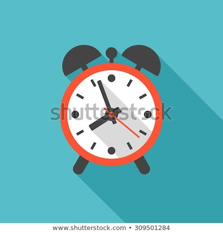 будильник цвета иллюстрация вверх утра Сток-фото © barsrsind