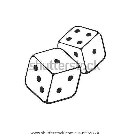 Casino hand drawn vector funny doodles illustration. Stock photo © balabolka