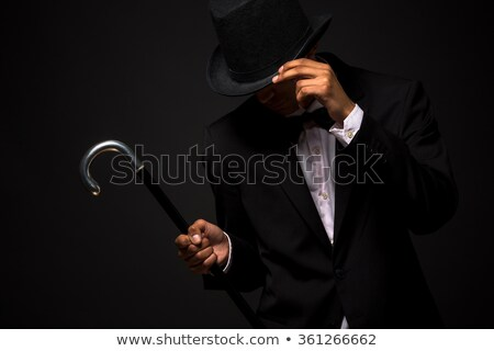 top hat and cane stock photo © curaphotography
