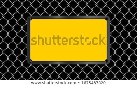 citromsárga · figyelmeztető · jel · durva · út · előre · izolált - stock fotó © darkves