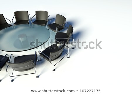 3d group discussion on a business meeting in a modern office  Stock photo © dacasdo