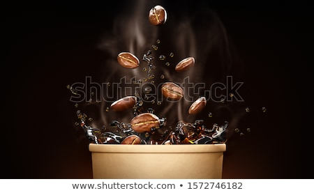 Finom kút felszolgált szeretet kávé művészet Stock fotó © leeser