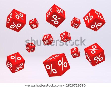 monday in 3d coloured cubes Stock photo © marinini