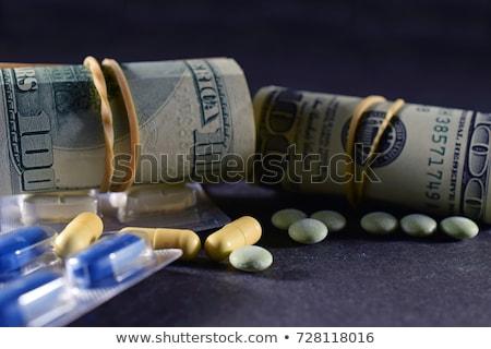 dólar · prescripción · salud · medicina - foto stock © devon