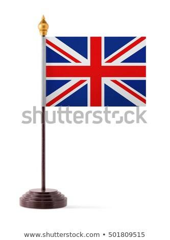 Miniatuur vlag Verenigd Koninkrijk geïsoleerd Stockfoto © bosphorus