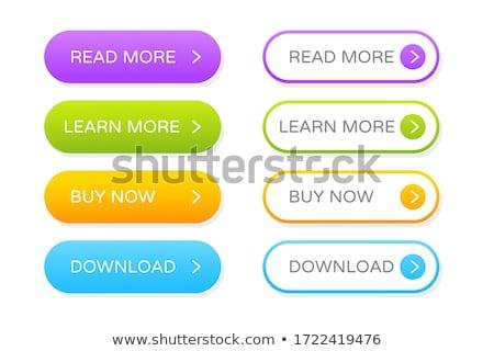 Buttons set stock photo © spectrum7