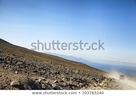 Offroad, natural dirt terrain  Stock photo © natalinka