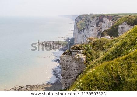 пляж Франция север морем французский Сток-фото © pkirillov