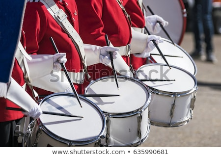 Band with drums Stock photo © photography33