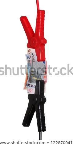 кабелей европейский валюта деньги Перейти помочь Сток-фото © pterwort