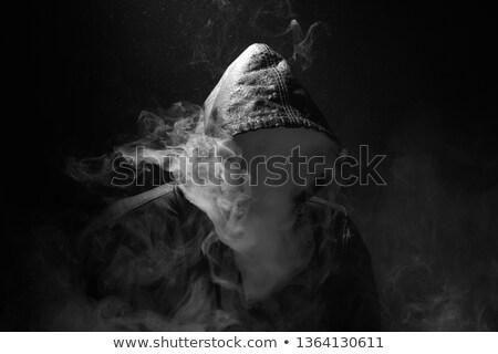 cannabis · eső · absztrakt · vektor · művészet · illusztráció - stock fotó © robertosch