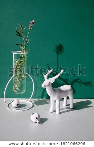アンティーク · 花柄 · 孤立した · 白 - ストックフォト © witthaya