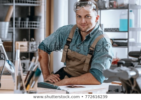 happy craftsman Stock photo © photography33