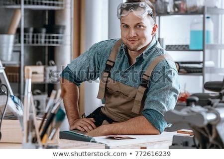 happy craftsman stock photo © photography33