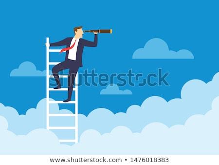 Aiming up Stock photo © eldadcarin
