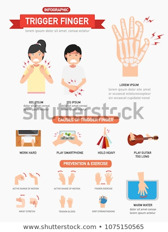 számítógép · kioldó · ujj · közelkép · kéz · középkorú · felnőtt - stock fotó © eldadcarin