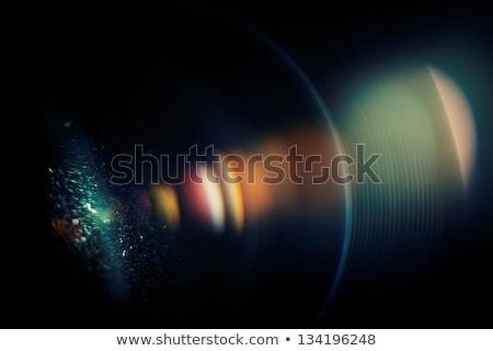 Chromatic aberration in the lens. Macro, high ISO Stock photo © pashabo