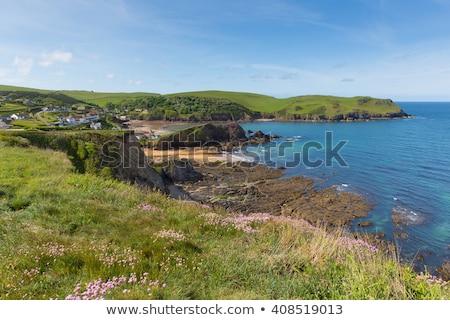 Plaj İngiltere su doğa manzara deniz Stok fotoğraf © ollietaylorphotograp