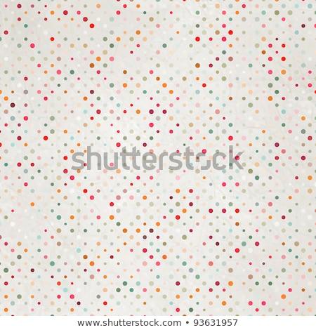 old distressed polka dot background Stock photo © Zerbor