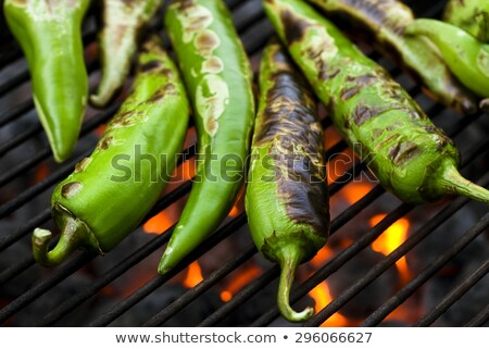 Grilled Chili Stock photo © ozgur
