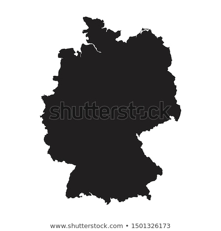 green germany map stock photo © volina