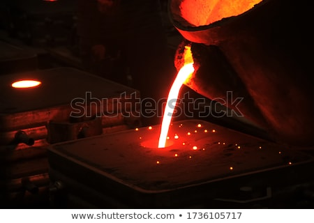 industrial working out of forming sand stock photo © nemalo