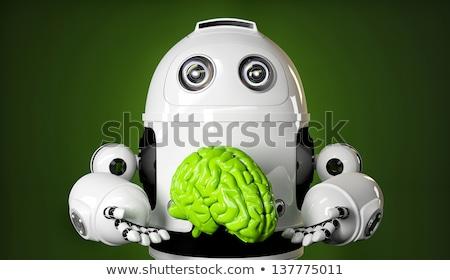 cervello · meccanismo · filo · elettriche · cervello · umano · energia - foto d'archivio © kirill_m