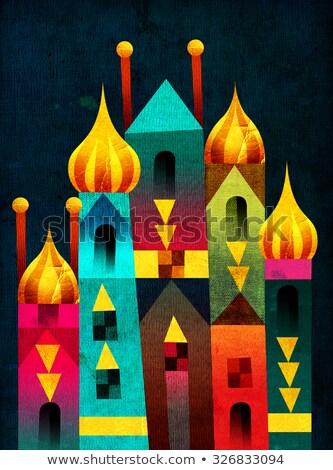 Starożytnych arabski pałac nice Windows alhambra Zdjęcia stock © cosma