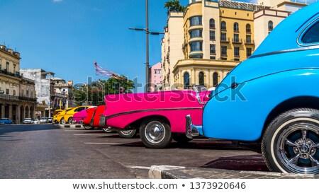 Old Havana with the Capitol, Cuba 2013 Stock photo © weltreisendertj