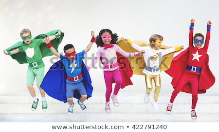 Superhero Child Stock photo © Lightsource