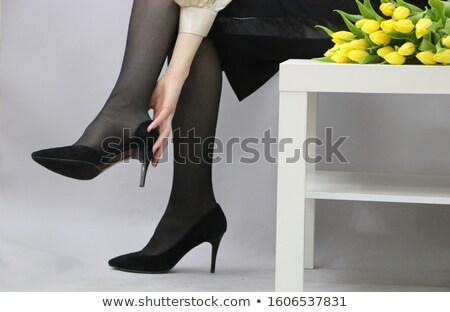 glamour · pernas · coleção · encantador · mulher · sapatos - foto stock © fotorobs