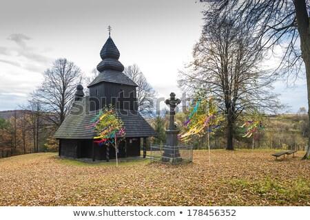 cross, Ruska Bystra, Slovakia Stock photo © phbcz