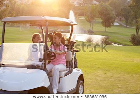 два · женщины · верховая · езда · гольф · гольф · женщины - Сток-фото © monkey_business