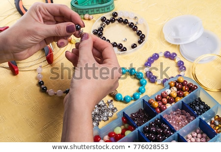 beads bracelet Stock photo © FOKA