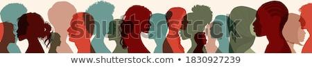empresário · lótus · pose · luz · cabeça · negócio - foto stock © pressmaster