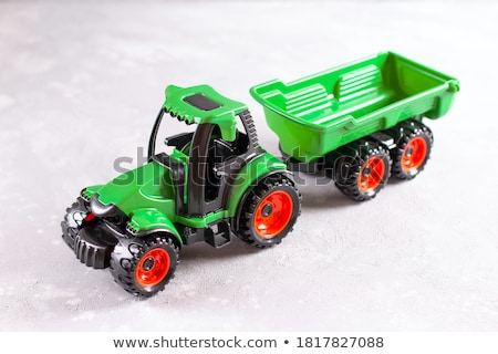 Tractor toy Stock photo © Ava