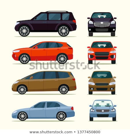 Rouge famille voiture design industrie Photo stock © tilo