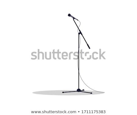 Resumen primario música tecnología micrófono Foto stock © nelsonart