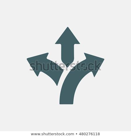 three arrows sign stock photo © serebrov
