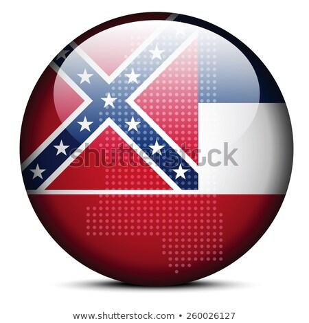 карта точка шаблон флаг кнопки США Сток-фото © Istanbul2009