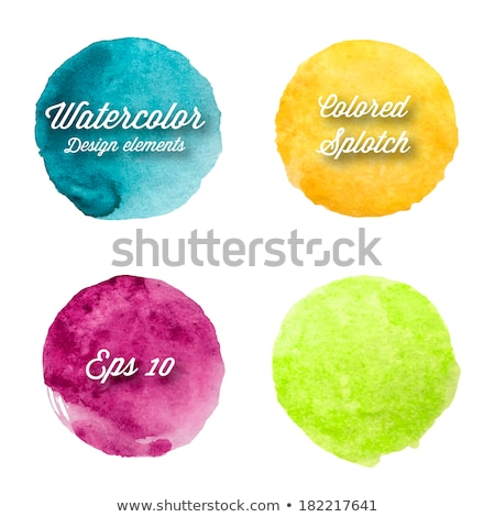 Watercolor Sale Blobs Stock photo © adamson