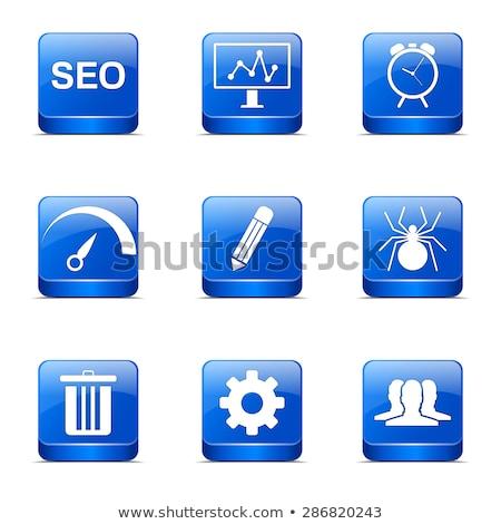 Zdjęcia stock: Seo · Internetu · podpisania · placu · wektora · niebieski