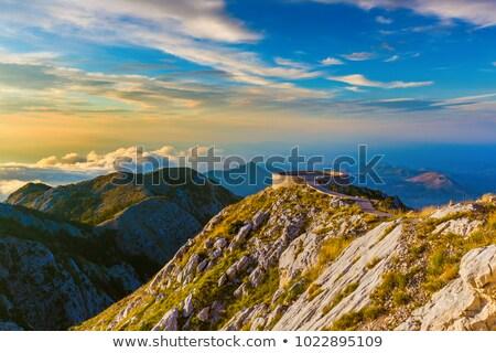 Черногория гор лет человека лес большой Сток-фото © master1305