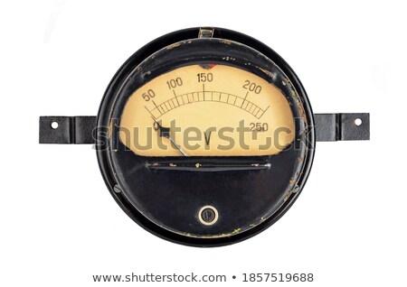 old amperemeter Stock photo © ssuaphoto